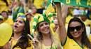 Fan cuồng Brazil, Mexico nóng bỏng cổ vũ đội nhà