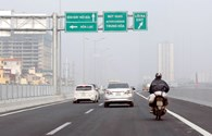 Xe máy đi vào làn đường ôtô trên đại lộ Thăng Long và đường trên cao vành đai 3:Báo động đỏ!