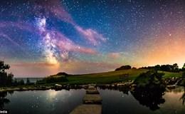 Chiêm ngưỡng dải ngân hà tuyệt đẹp giữa bầu trời đêm