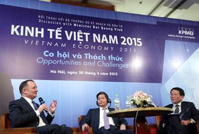 """Tọa đàm kinh tế Việt Nam 2015: Hết thời Nhà nước như """"bề trên"""" của doanh nghiệp"""