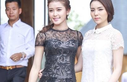 Hoa hậu Kỳ Duyên lại bị chê kém sắc khi đứng cạnh Huyền My