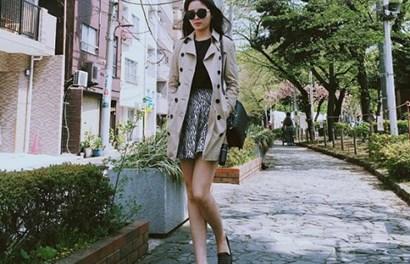 Hoa hậu Kỳ Duyên khoe dáng đẹp vi vu bên trời Tây