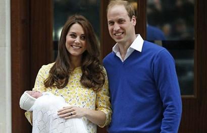 Vẻ đẹp như thiên thần của công chúa nhỏ mới sinh của hoàng gia Anh