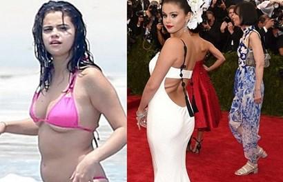 """""""Công chúa"""" Selena Gomez gây sốc khi để lộ thân hình phì nhiêu, chảy xệ"""