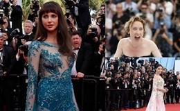 """Hài hước những khoảnh khắc """"khó đỡ"""" của dàn sao tại LHP Cannes 68"""