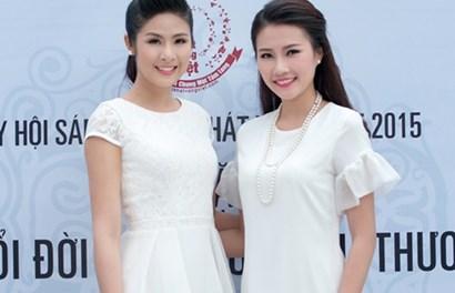 Hoa hậu Ngọc Hân đẹp hút hồn đọ sắc với dàn mỹ nhân