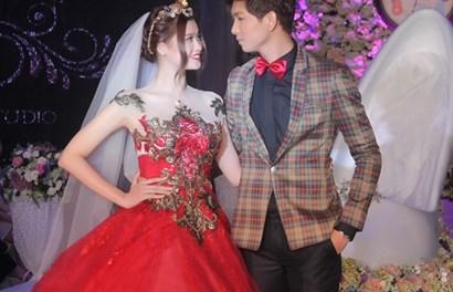 Trương Quỳnh Anh hạnh phúc bên Tim trong ngày làm cô dâu
