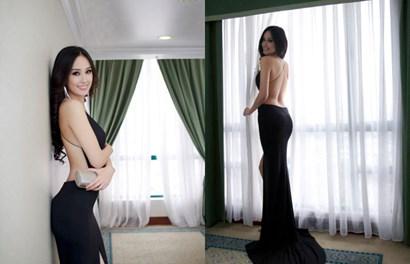 """Hoa hậu Mai Phương Thúy """"nghiện"""" mốt khoe lưng trần sexy đi sự kiện"""