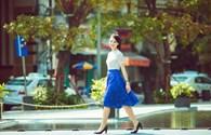 Hoa hậu Trần Thị Quỳnh tươi trẻ như nữ sinh