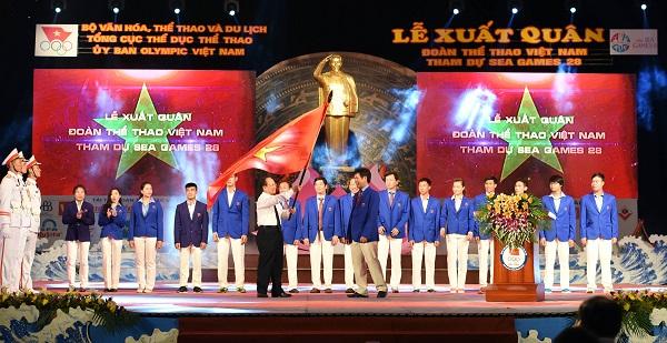 Phó Tổng Cục trưởng Tổng cục TDTT Trần Đức Phấn: SEA Games không chỉ là thể thao