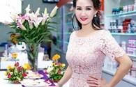 Hoa hậu quý bà Sương Đặng diện váy 2000 USD rạng rỡ tại sự kiện