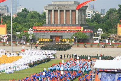 Trực tiếp: Lễ diễu binh, diễu hành kỷ niệm 70 năm Quốc khánh 2.9