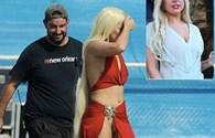 """Lady Gaga hớ hênh 'lộ hàng' trên trường quay khiến fan """"đỏ mặt"""""""