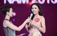 Phần trả lời ứng xử trôi chảy và ấp úng của top 5 Hoa hậu Hoàn vũ Việt Nam