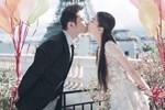 Huỳnh Hiểu Minh - Angela Baby hôn nhau say đắm trong ảnh cưới
