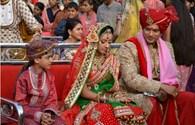 Cô dâu 8 tuổi' đẹp lộng lẫy trong lễ tái hôn xa hoa