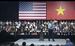 Tổng thống Obama nhắc đến Trần Lập, nhạc Sơn Tùng với thủ lĩnh trẻ