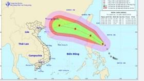 Bão số 2 tiến vào Biển Đông, gió giật cấp 12