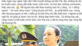 Sao Việt lên tiếng bênh vực Phương Nga trước lùm xùm tình ái với đại gia