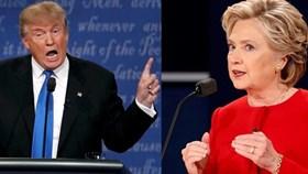 """Donald Trump và bà Hillary Clinton tranh luận """"nảy lửa"""" trên truyền hình"""