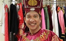 Quang Thắng khoe giọng hát trong hậu trường Táo quân 2017
