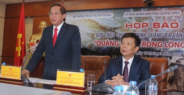 Bộ trưởng Trương Minh Tuấn: Đừng biến Quảng Bình, đừng biến Phong Nha - Kẻ Bàng trở thành đảo đầu lâu