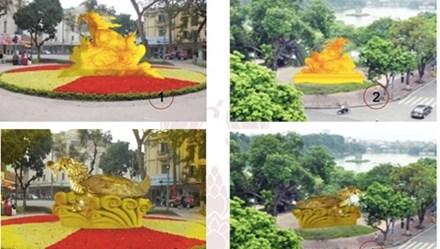 Sở Văn hóa Hà Nội lên tiếng về ý tưởng dựng tượng rùa vàng ở Hồ Gươm