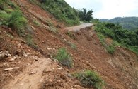 Lào Cai: 2 người bị thương do sạt lở đất
