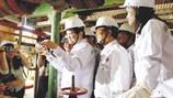 Chủ tịch Nước chúc tết cụm giàn CNTT số 2 mỏ Bạch Hổ