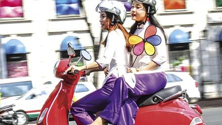Vespa LX mới với nhiều cải tiến công nghệ ra mắt tại thị trường Việt Nam