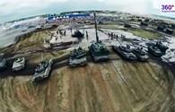 """Video clip: Hé lộ video lần đầu phô diễn sức mạnh của """"siêu tăng"""" Armata"""