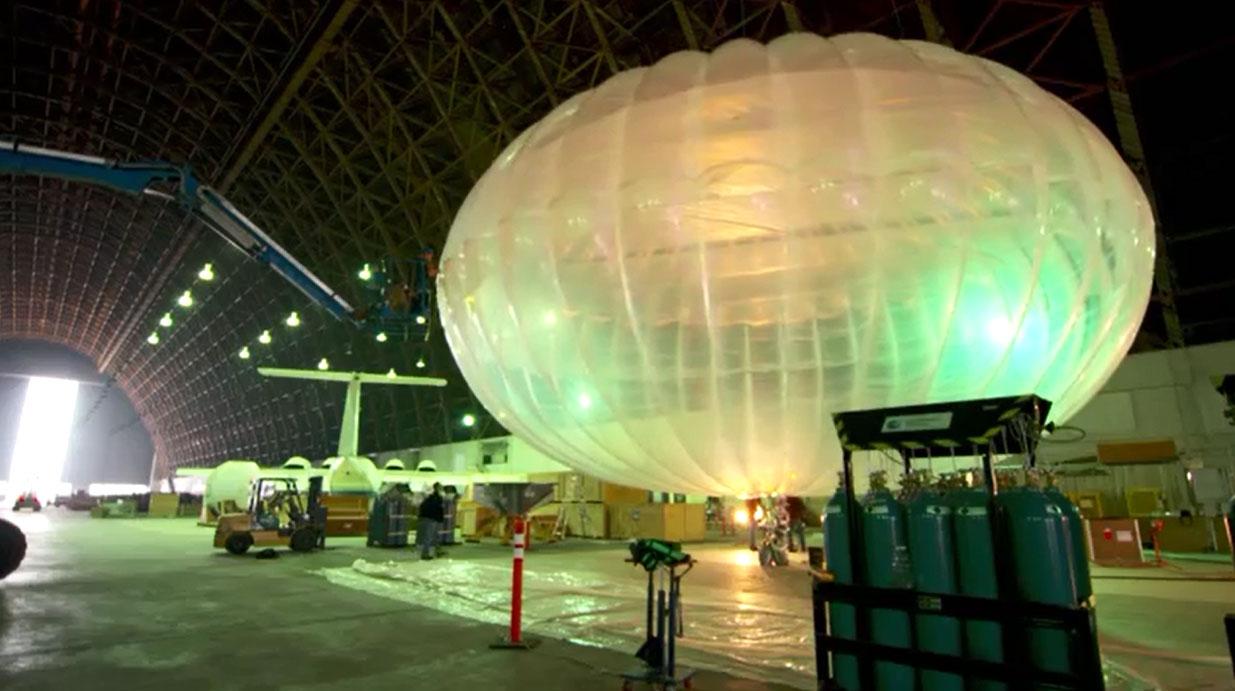 Video clip: Cận cảnh bóng bay kỳ diệu đưa Internet tới vùng sâu, vùng xa của Google