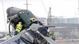 Video: Kinh hoàng máy bay trực thăng gặp nạn nát vụn khi hạ cánh