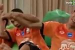Cầu thủ Thái Lan bò ra cười khi Việt Nam bị Iraq gỡ hòa - Video