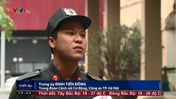 Cảnh sát cơ động kể lại chuyện bị giữ tại thôn Hoành