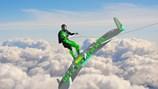 """Kinh ngạc ván trượt khủng cực lợi hại biến người thành """"siêu nhân"""" bay lượn trên mây"""