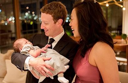 Những khoảnh khắc ngọt ngào bên con gái của ông trùm Facebook Mark Zuckerberg