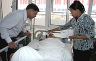Quỹ Tấm lòng vàng Lao Động đến với NLĐ bị tai nạn tại công trường Formosa