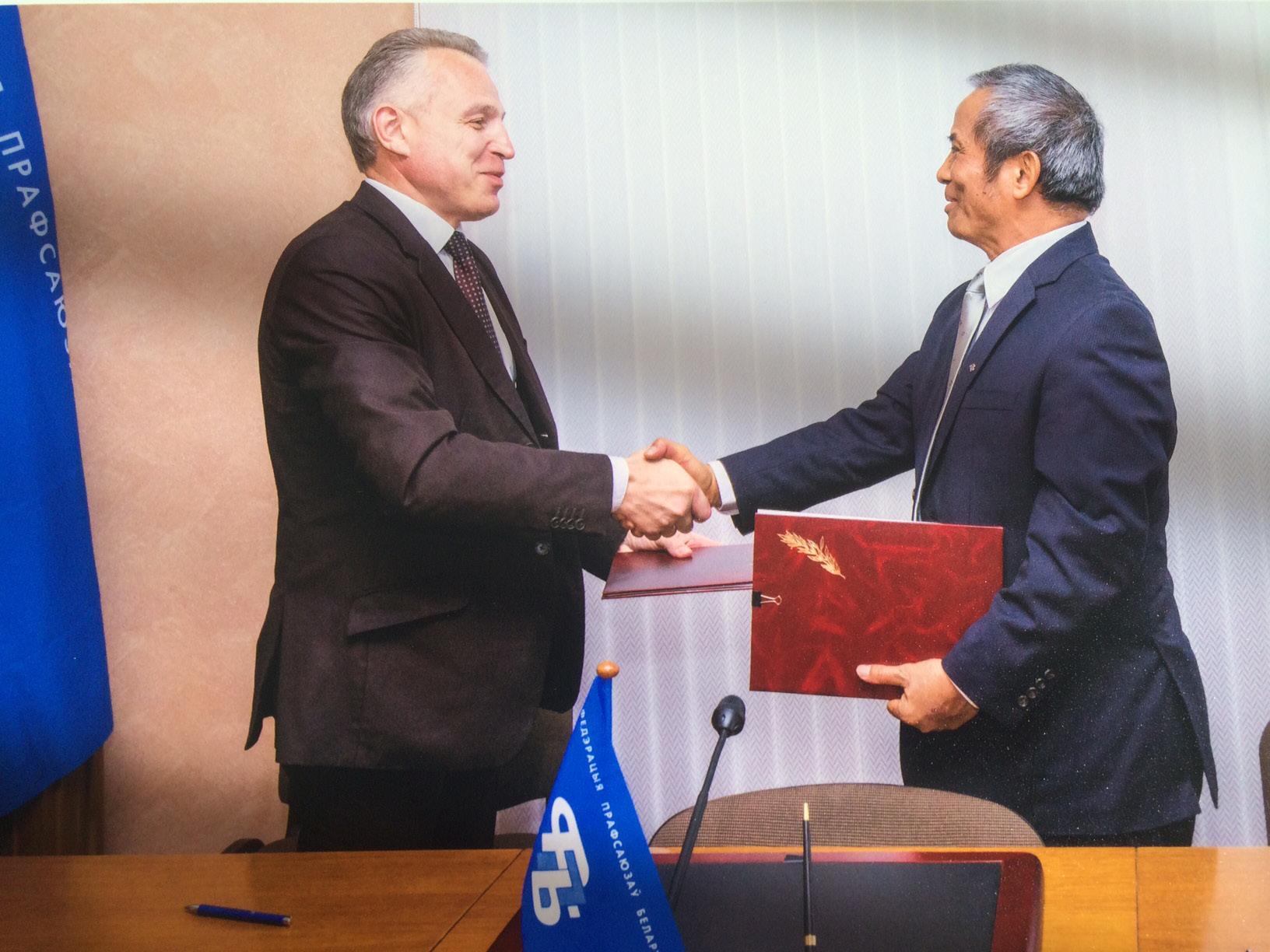 Chủ tịch Tổng LĐLĐVN kết thúc tốt đẹp chuyến thăm và làm việc tại Belarus: Củng cố, thúc đẩy quan hệ hợp tác giữa công đoàn hai nước