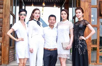 """Sao Việt đua nhau diện """"cây trắng"""" tại lễ """"rửa"""" phim trường"""