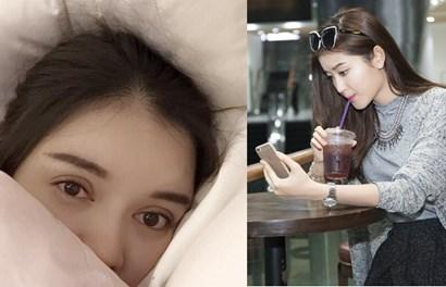 Lý Nhã Kỳ khóc nhè trên giường bệnh, Huyền My một mình lang thang cafe Sài Gòn