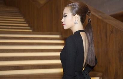 """Hoàng Thùy Linh gây """"sốc"""" với mái tóc lạ đi sự kiện"""