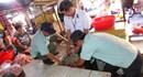 Bình Phước: Tiêu hủy hơn 400 kg thịt thối