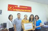 Quỹ Tấm Lòng Vàng tiếp nhận thêm 450 triệu đồng ủng hộ đồng bào miền Trung