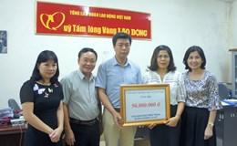 Công đoàn Bộ Khoa học và Công nghệ trao yêu thương đến với miền Trung