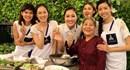 Dàn người đẹp Hoa khôi áo dài VN vào bếp so tài ẩm thực ba miền