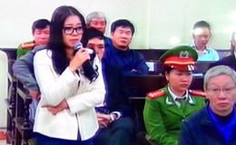 """Ngày thứ 3 xét xử vụ án """"bầu"""" Kiên: Người đẹp Đặng Ngọc Lan nức nở trước tòa"""