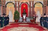Tổng Bí thư Nguyễn Phú Trọng chúc Tết lãnh đạo Đảng, Nhà nước
