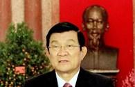 Chủ Tịch Nước Trương Tấn Sang chúc Tết Ất Mùi 2015