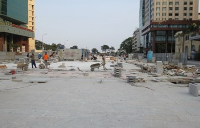Nhìn tận mắt công trình phố đi bộ đầu tiên tại TPHCM
